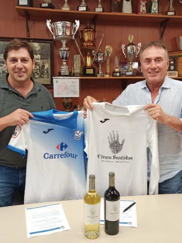 Acuerdo de Patrocinio con el Fútbol Base  AE PRAT
